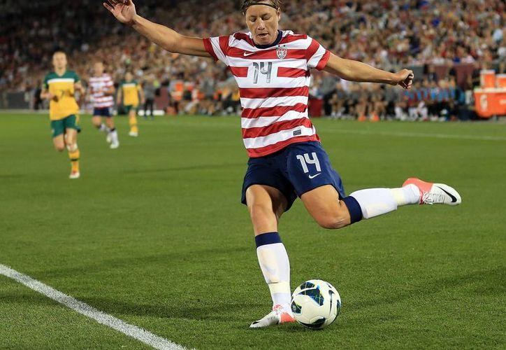 Abby Wambach, máxima goleadora no solo de la Selección de EU, sino de todas las selecciones, anunció que deja el futbol. (mashable.com)