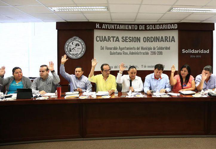 Para los próximos comicios, siete regidores y la presidenta municipal de Solidaridad solicitaron licencia para ausentarse de cabildo. (Foto: Redacción/SIPSE)