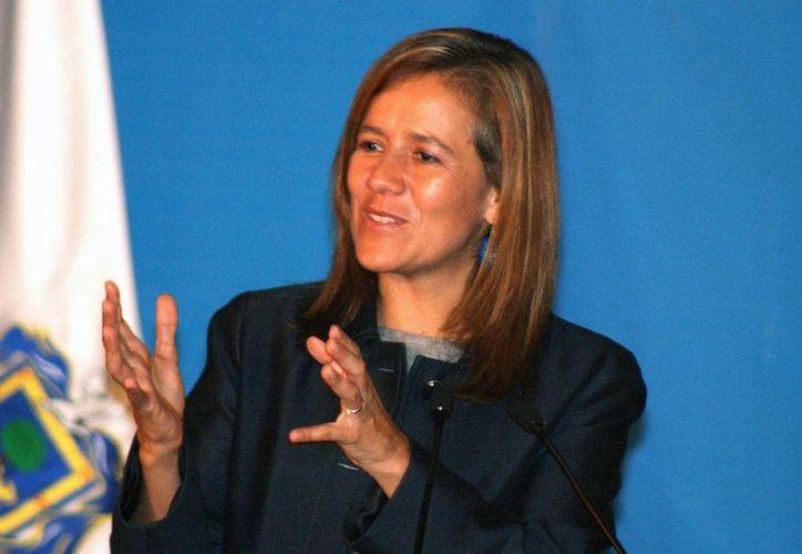 """Margarita Zavala declaró que """"es una barbaridad"""" pensar que esté interesada en postularse como diputada para otro partido que no sea Acción Nacional. (jalisco.gob.mx)"""