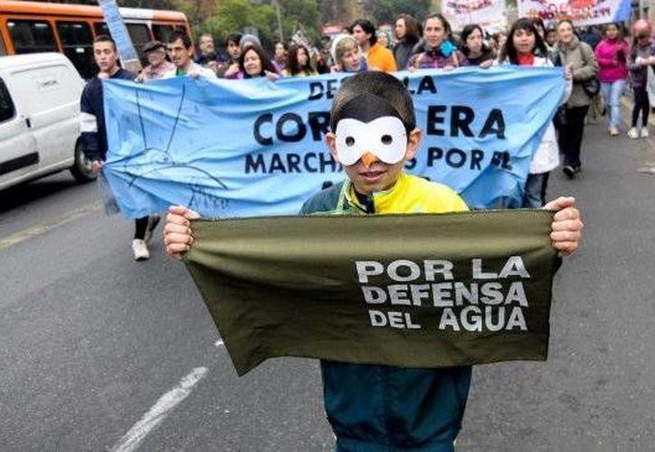 Hasta ahora no se ha especificado el número de asistentes a la manifestación. (UPI/cooperativa.cl)