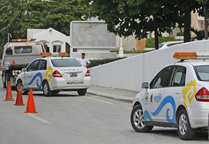 Sintra y la Dirección General de Transporte y Vialidad, retomaron los operativos para las urvans. (Foto: Redacción)