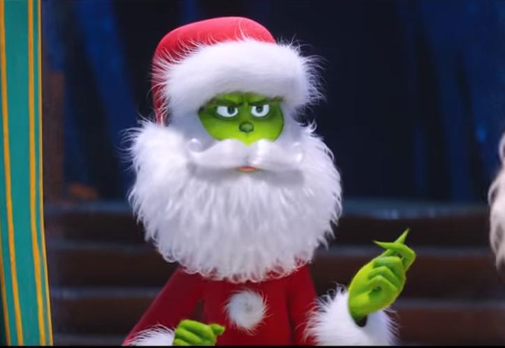 El Grinch es un personaje cínico y gruñón que pone en marcha una misión para robarse la Navidad. (Captura)
