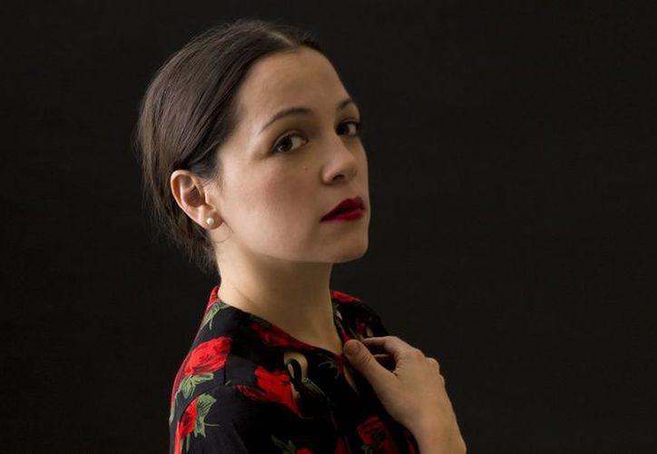 En esta ocasión la cantante veracruzana llenó la sala de conciertos con capacidad para mil 400 personas. (Contexto)
