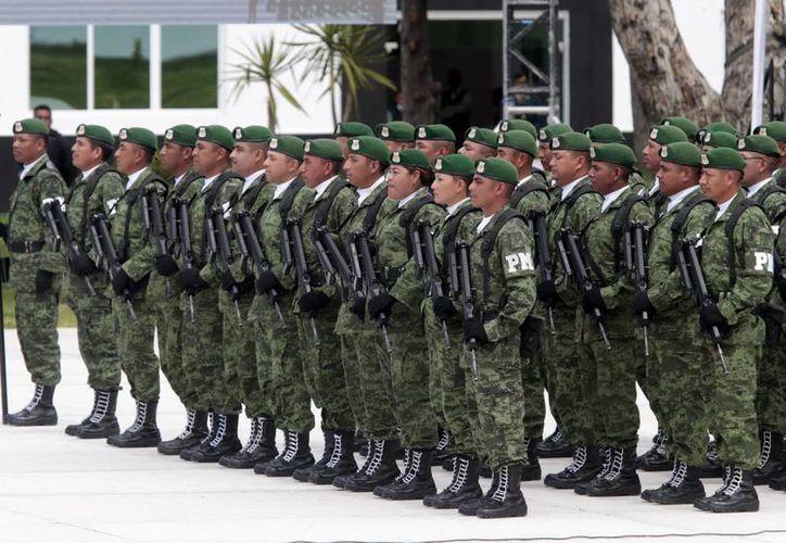 Los militares han gozado de hasta un 75 % de aprobación por parte de la ciudadanía, según encuestas. (Archivo/Notimex)