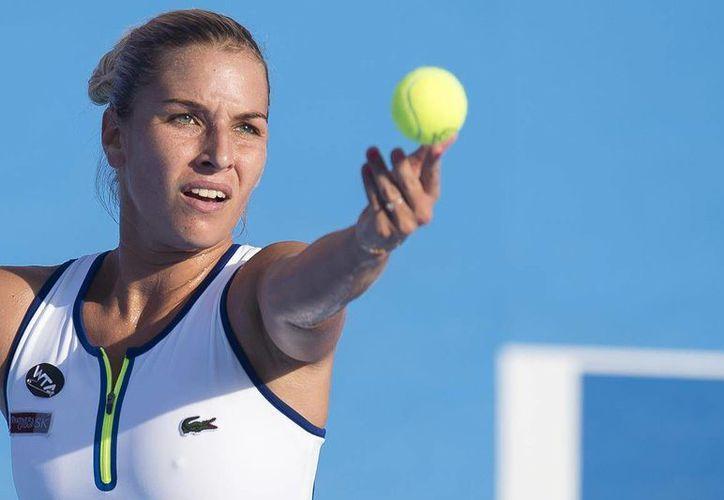 La eslovaca Dominika Cibulboka se convirtió en la primera finalista del Abierto Mexicano de Tenis 2016. (Abierto Mexicano de Tenis)