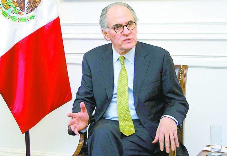 El ex funcionario durante la gestión del presidente Ernesto Zedillo. (Milenio)