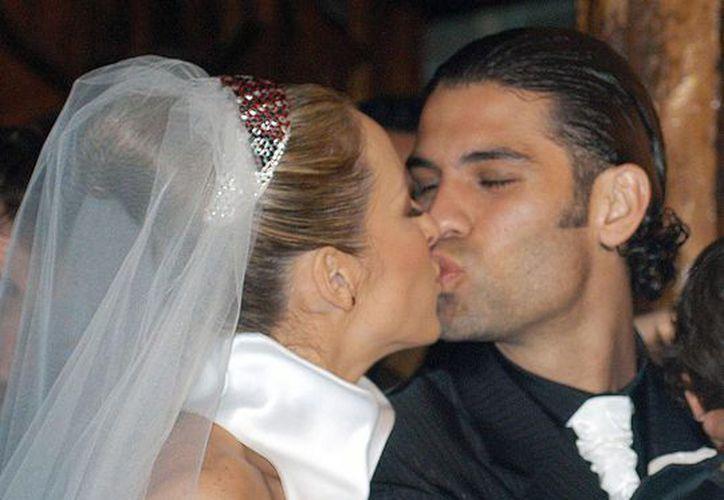 Lavat y Márquez se casaron en el 2001, dos años después nació Santiago y en 2005 Rafaela. La pareja se divorció en el 2008. (Contexto/Internet)