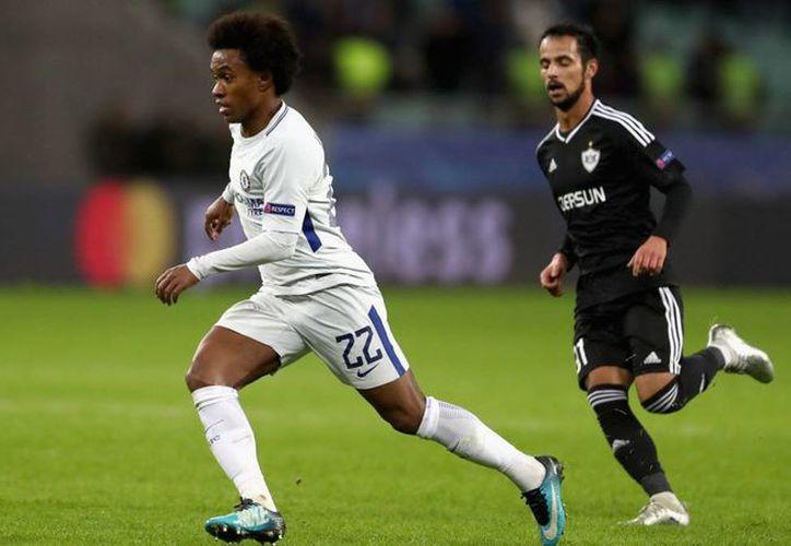 Combinación brillante entre Hazard y William llevó al conjunto del Chelsea a obtener el último pase a la liga. (Foto: AS)