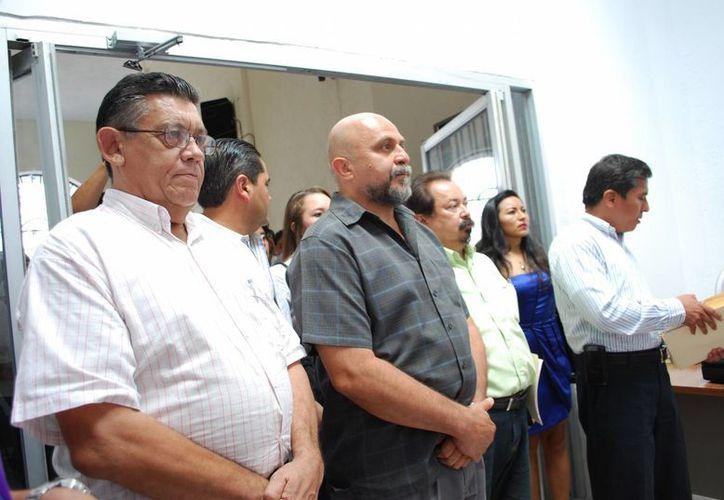 El Partido Movimiento Ciudadano integró su planilla con ciudadanos y profesionistas. (Tomás Álvarez/SIPSE)