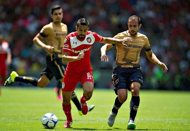 Pumas y Toluca conocerán su surte este martes cuando se realice el sorteo de la Copa Libertadores 2016. En el mismo toreo La Franja poblana participará pero en el 'repechaje'. (Archivo Mexsport)