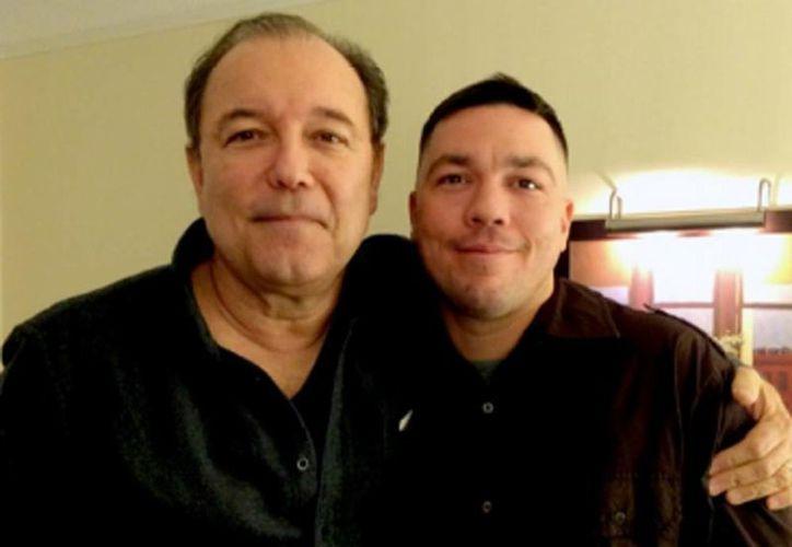 Rubén Blades y Joseph Verne durante su primera reunión en marzo de 2014. Acepta el cantante que al principio rechazó la idea. (rubenblades.com)