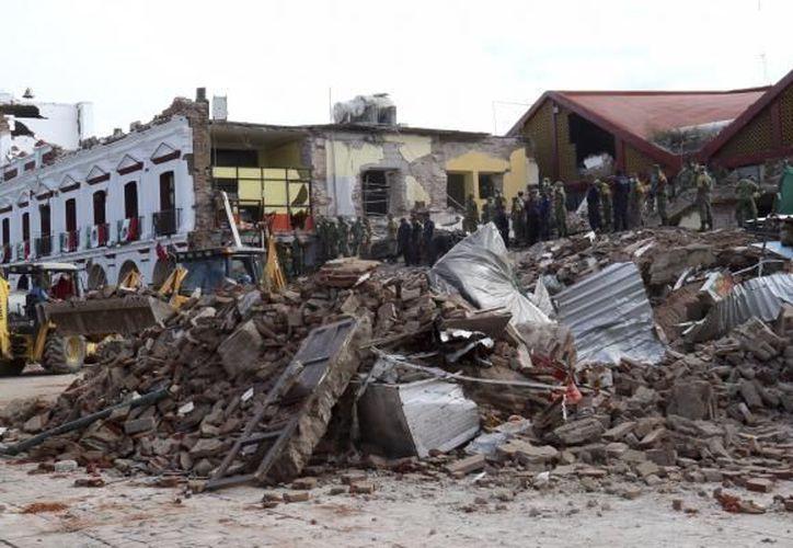 De acuerdo con la Secretaría de Protección Civil, mil 534 escuelas resultaron con daño parcial y 86 con daño total. (Internet/Contexto)