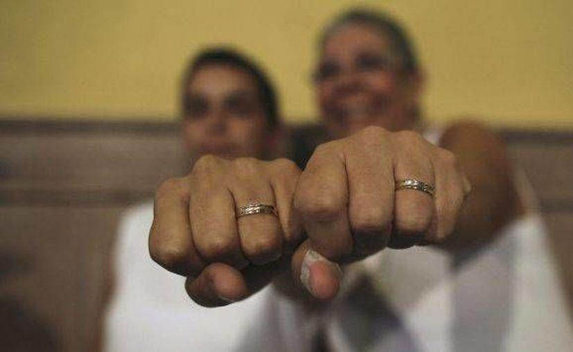 Para 64 por ciento, la homosexualidad debe ser percibida como una forma siempre aceptable de vida. (Archivo/Reuters)