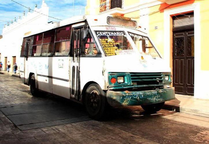 Aseguran que se busca mejorar las condiciones del transporte público. (Archivo/SIPSE)