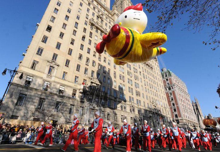 Tradicional Desfile de Macy's. (Agencias)
