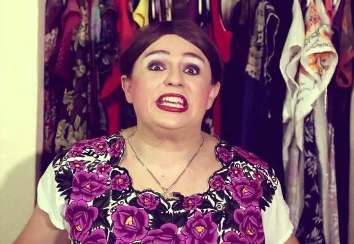 El personaje de Tila María Sesto regresa a Cancún para hacer reír a su público. (Cortesía)