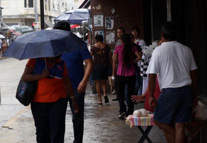 La lluvia de ayer en Mérida fue prolongada. (Juan Carlos Albornoz/SIPSE)