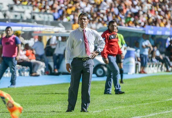 El director técnico de la U de G, Alfonso Sosa (foto), está viviendo un auténtico calvario: su equipo está a punto de descender y ya sólo le queda ganar y que Puebla pierdan. (Archivo/Jammedia)