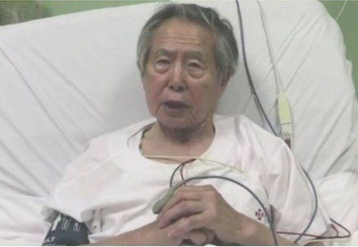 Alberto Fujimori permanecía encarcelado en la Diroes luego que la Cuarta Sala Penal del Poder Judicial lo condenó, en enero del 2015. (El Correo)