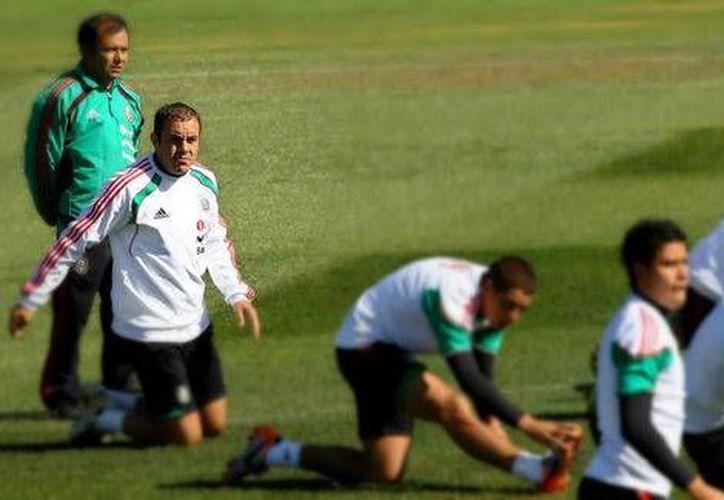 Cuauhtémoc Blanco con la Selección (Mexsport)