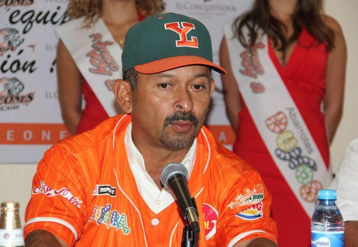 El nuevo timonel fue campeón con los Diablos Rojos. (Marco Moreno/SIPSE)