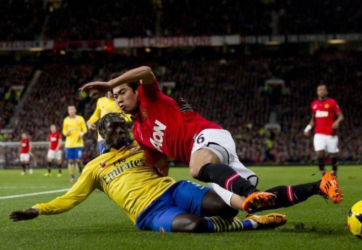 """Los """"Red Devils"""" cortaron la racha invicta que llevaba el Arsenal en la Liga Premier. (Agencias)"""