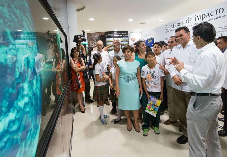 El Museo de Ciencias del Cráter Chicxulub se agrega a las opciones de esparcimiento cultural en Yucatán. (SIPSE)