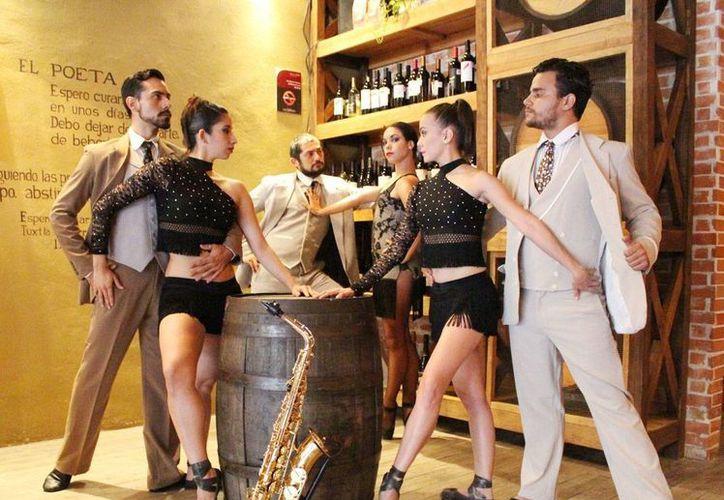 Cinco números integran 'Al ritmo de jazz y tango...pasiones verdaderas'. (Milenio Novedades)