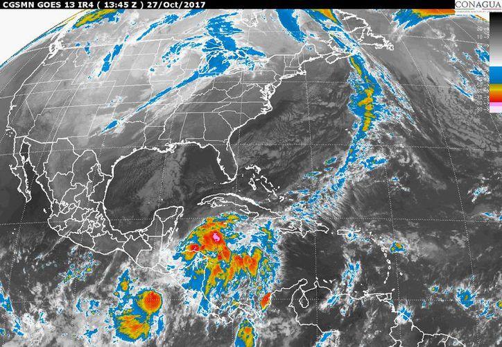 Se prevé la observación de los trópicos en Cancún y Chetumal. (Conagua)
