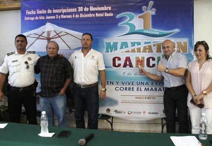 El evento se presentó durante una rueda de prensa. (Ángel Mazariego/SIPSE)