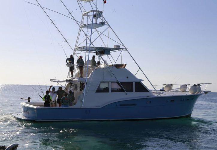 Los náuticos finalizaron con el estudio de caracterización del arrecife. (Israel Leal/SIPSE)