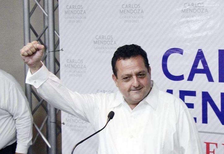 Carlos Mendoza Davis, es el virtual ganador a la gubernatura de Baja California Sur, con 86 mil 060 votos. (Archivo/Notimex)