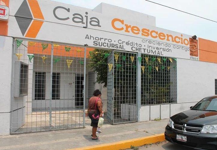 La Caja Crescencio A. Cruz representaba los ahorros de 15 mil afiliados. (Edgardo Rodríguez/SIPSE)