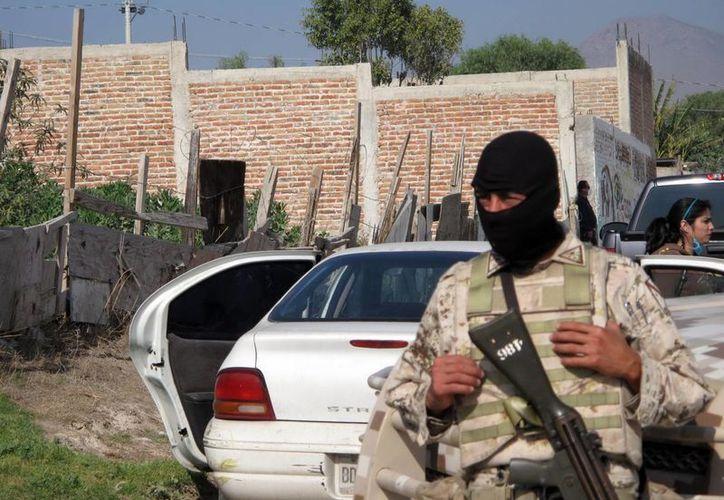 Militares detuvieron en 2007 a 78 sospechosos de diversas nacionalidades. (Archivo/Notimex)