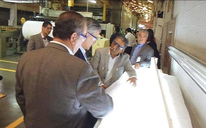 El INE inició con la producción de papel seguridad para boletas de la elección de diputados federales. (Twitter/@INEMexico)