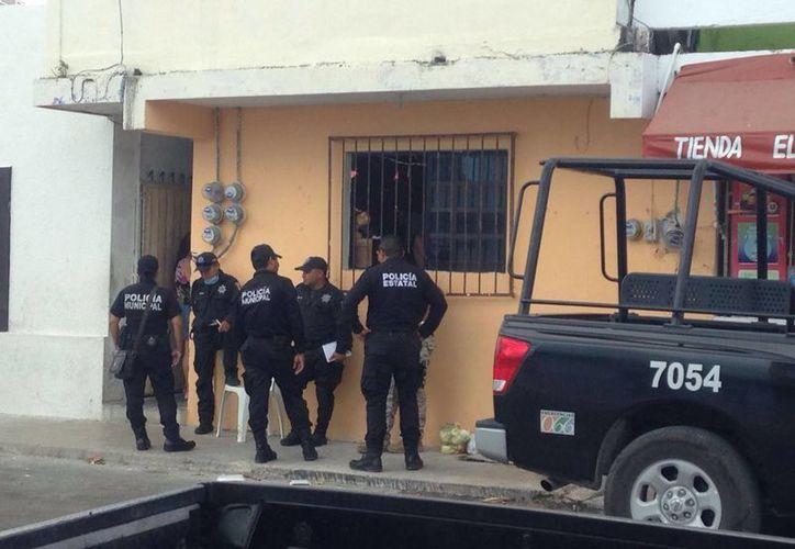 Este es el domicilio donde se reportó a la persona que se quitó la vida, en el puerto de Progreso. (Gerardo Keb/SIPSE)