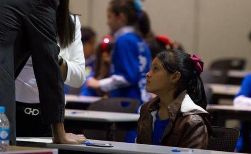 La joven rechazó varias ofertas para estudiar en el extranjero. (Milenio)