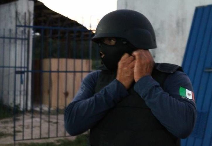 La  detención se logró en operación conjunta con el grupo Geri de la PGJ y el Grupo Táctico Guanajuato de la Secretaría de Seguridad Pública. (Archivo SIPSE)