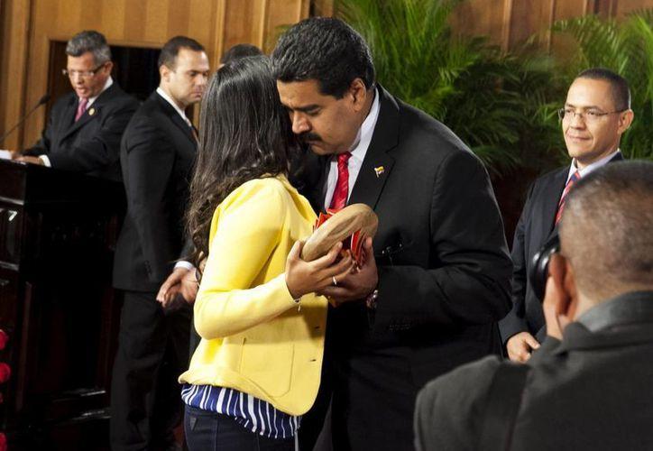 Maduro recordó a Chávez como 'un gran comunicador'. (EFE)