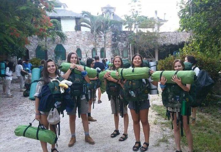 Esta expedición de jóvenes se viene realizando desde hace 30 años. (Javier Ortiz/ SIPSE)