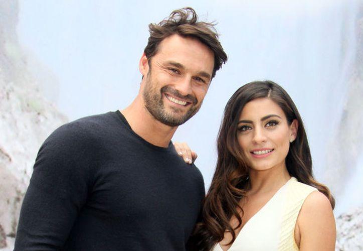 El actor español Iván Sánchez se negó a ahondar sobre su relación amorosa con la mexicana Ana Brenda Contreras. (¡Hola! México).