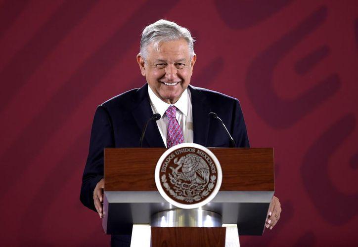 Andrés Manuel López Obrador se encuentra entre los cinco mejores presidentes mejor evaluados del mundo, según Mitofsky. (Gobierno de México)