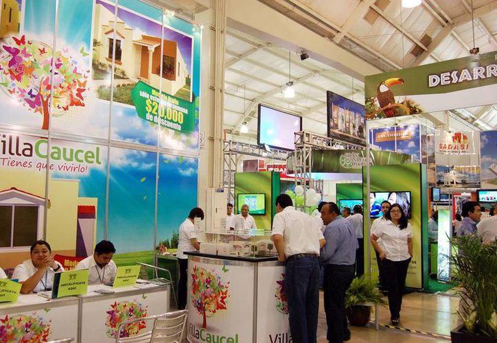 El pasado viernes se inauguró la Expo Vivienda 2013 en el Centro de Convenciones Siglo XXI. (Milenio Novedades)