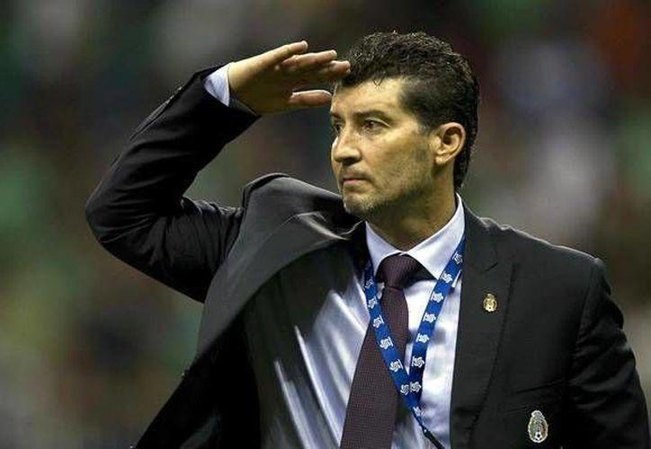 El técnico mexicano llega como sucesor de Luis Zubeldía, quien deja al equipo en los últimos lugares de la Liga Mx.(Notimex)