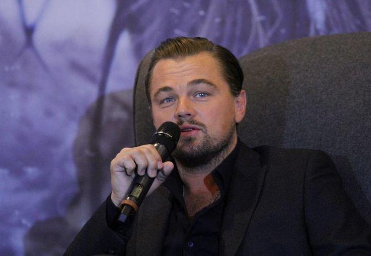 DiCaprio habló sobre su participación en la cinta nominada a 12 Premios Oscar 'El renacido'.