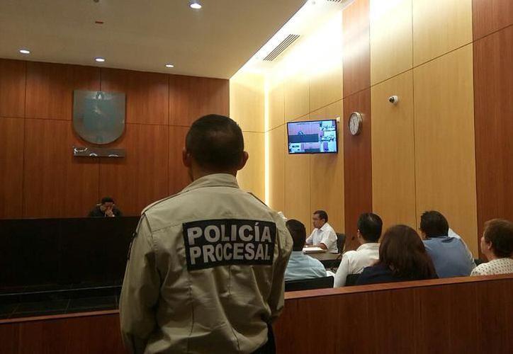 La audiencia se llevó a cabo en el Tribunal Segundo de Juicio Oral, en Mérida, Yucatán. (SIPSE)