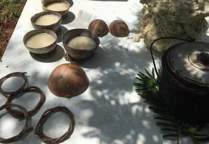 El Cha Chaac es una ceremonia maya de agradecimiento por la cosecha. (Tony Blanco/SIPSE)
