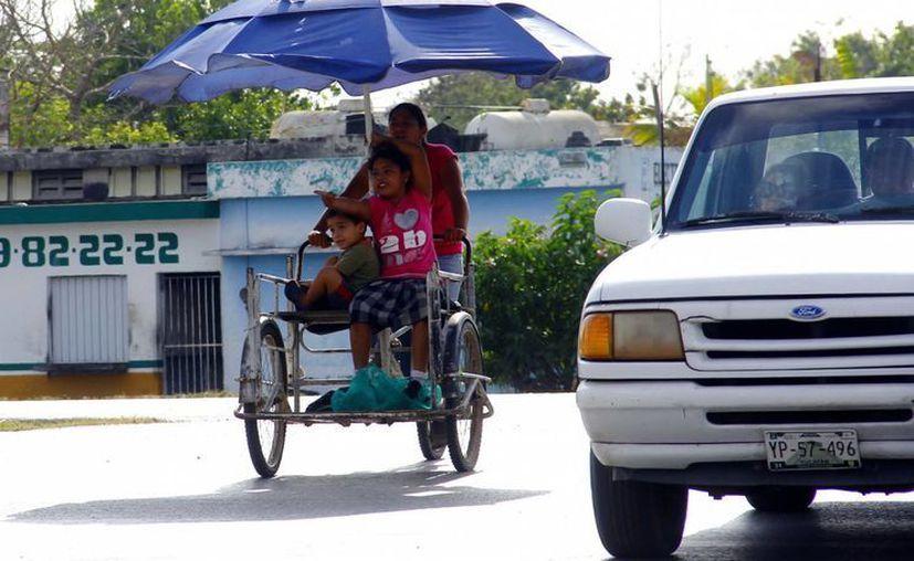 Las altas temperaturas se mantendrán este viernes y mañana sábado en Yucatán.  (Juan Albornoz/SIPSE)
