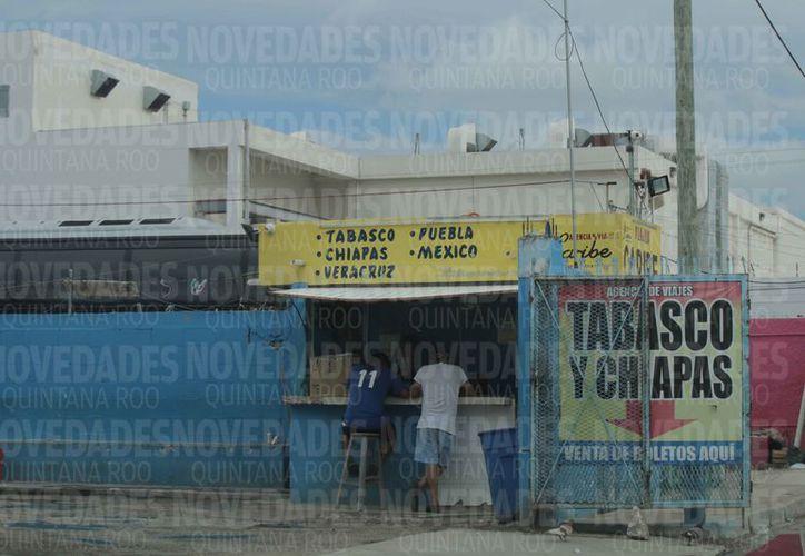 """Señalan que las empresas ubicadas en """"El Crucero"""" no están reguladas. (Paola Chiomante/SIPSE)"""