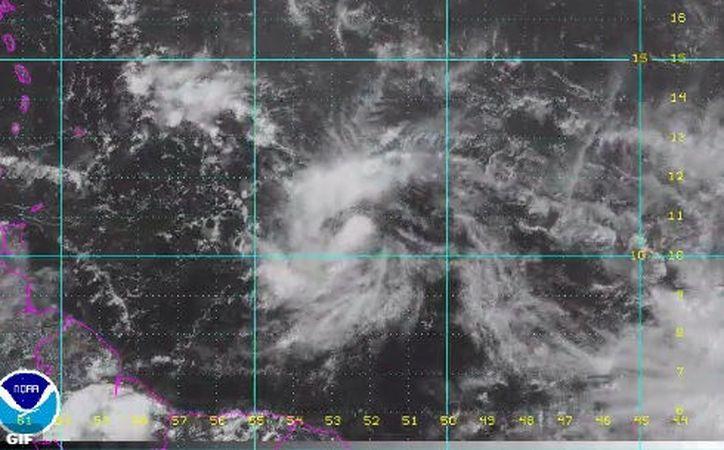 La tormenta tropical 'Don' se formó en el Océano Atlántico. (Twitter/@Sky AlertStorm).